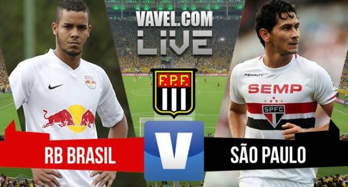 Resultado do jogo Red Bull Brasil x São Paulo pelo Campeonato Paulista 2016 (1-1)