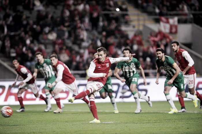 Braga vence Rio Ave e aproxima-se do Jamor
