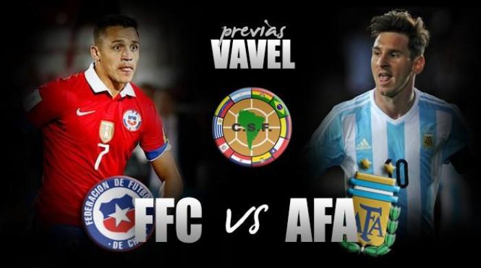 Previa Chile - Argentina: con sed de victoria