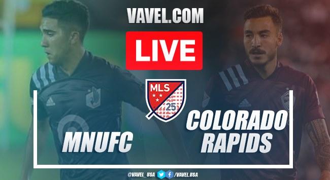 Minnesota United vs Colorado (3-0): Live Stream and Updates