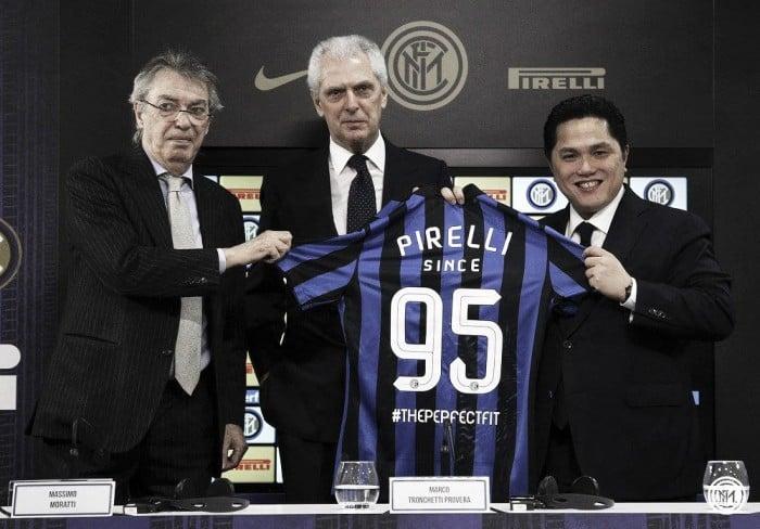 Mais de 20 anos juntas, Internazionale e Pirelli estendem vínculo por mais cinco temporadas