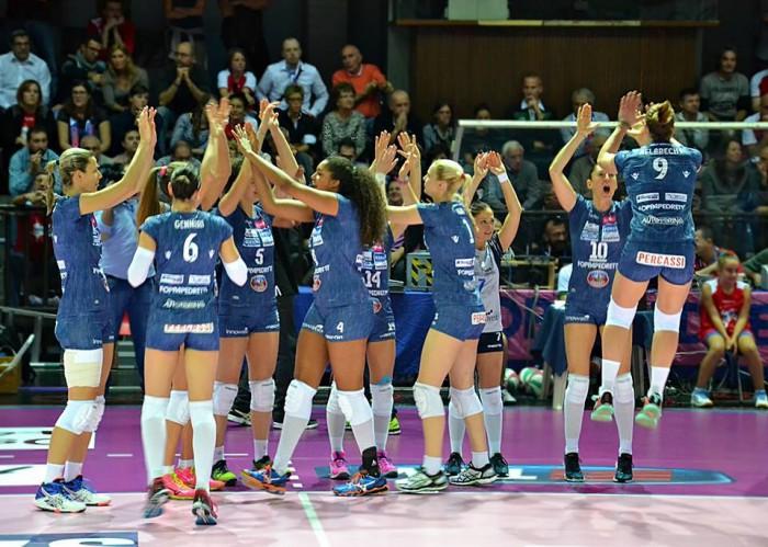 La Foppapedretti Bergamo fa sua la Coppa Italia di volley femminile. Piacenza è battuta