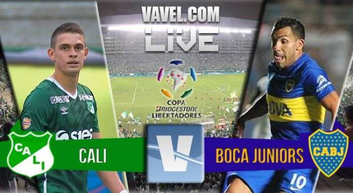 Resultado de Deportivo Cali x Boca Juniors na Copa Libertadores 2016 (0-0)