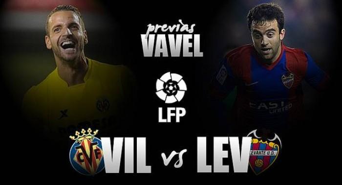 Villarreal - Levante: objetivos opuestos