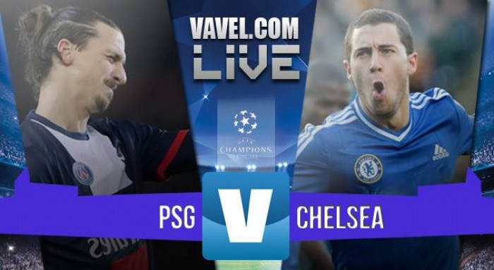 PSG - Chelsea in Champions League 2015/2016 (ore 20.45, 2-1)