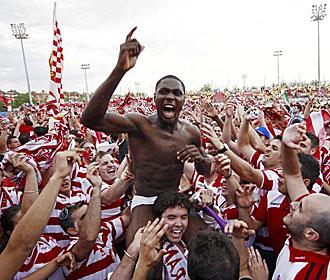 Una década del regreso del Granada CF al fútbol profesional