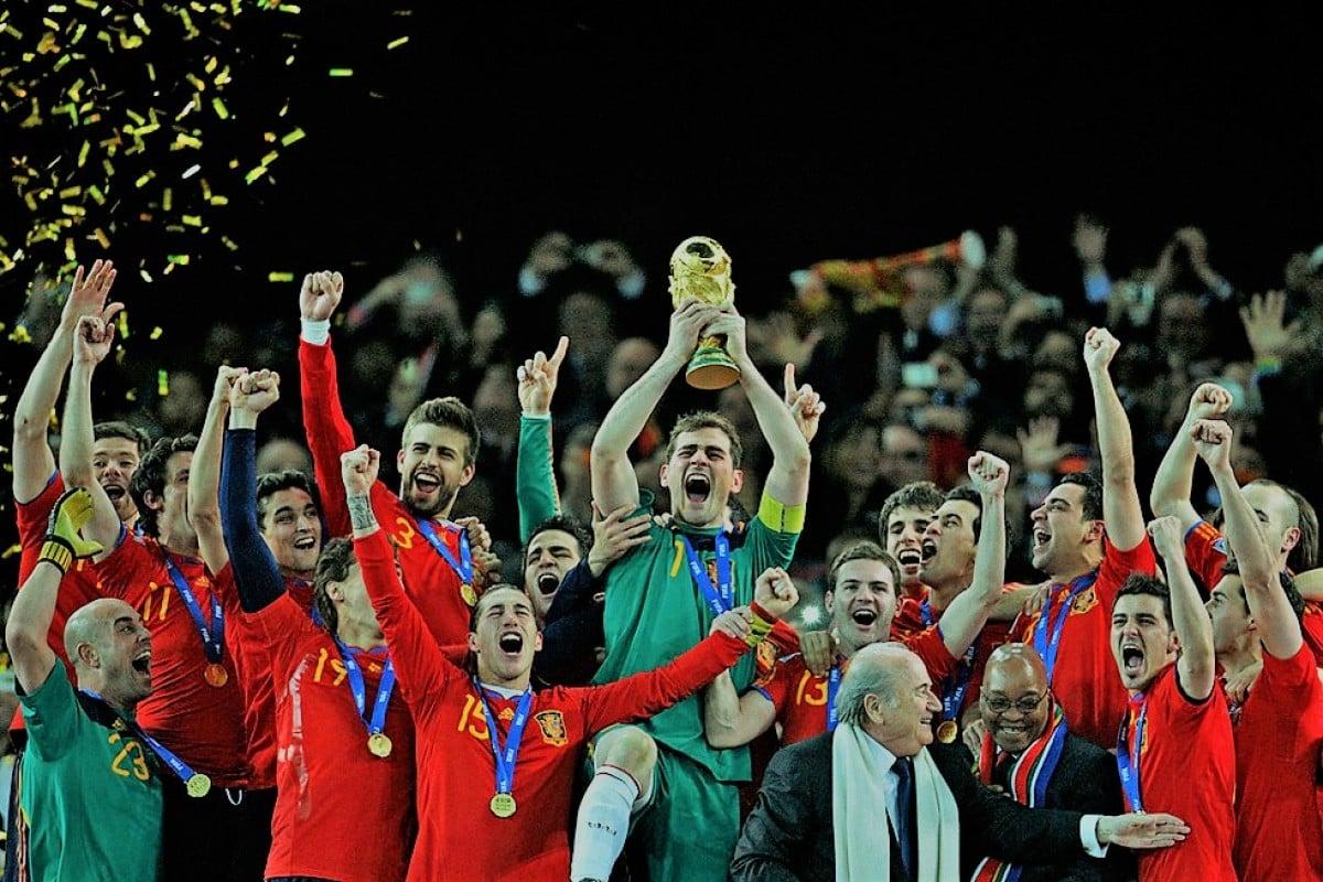 Las provincias con más jugadores en la selección española de fútbol