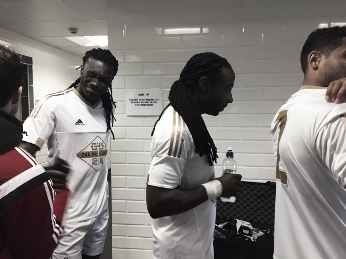 Bafetimbi Gomis bags a brace in behind-closed-doors win