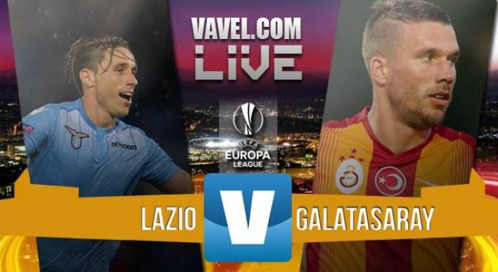Live Lazio - Galatasaray in partita Europa League 2015/2016 (3-1): la Lazio vola agli ottavi!