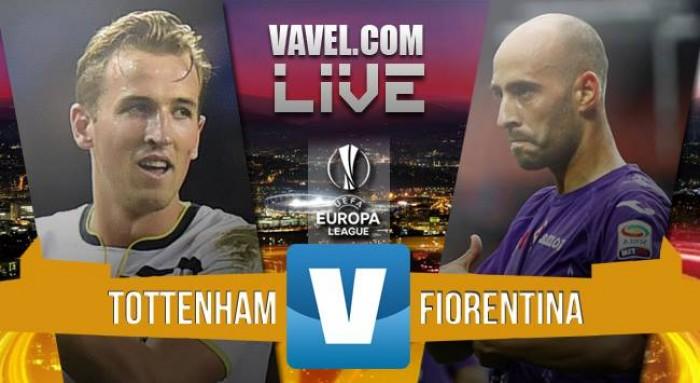 Tottenham-Fiorentina in Europa League 2015/16 (3-0): Mason, Lamela e autogol