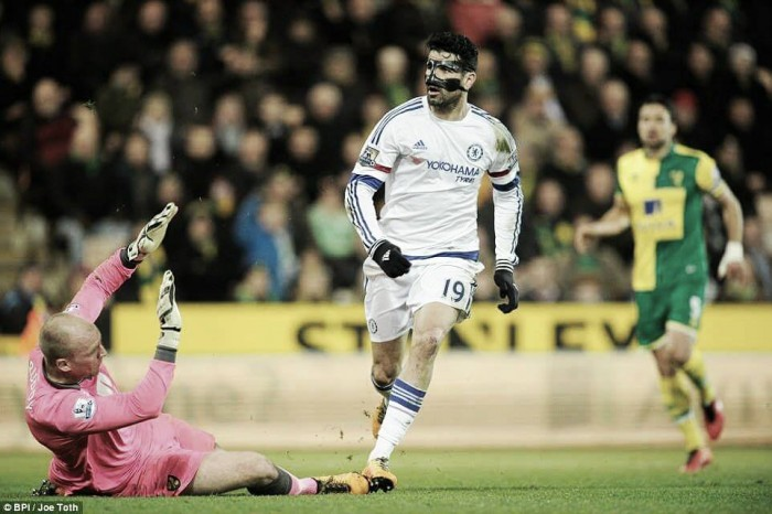 Norwich City 1-2 Chelsea: Champions hold out against dangerous Canaries
