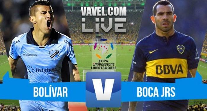 Resultado Bolívar x Boca Juniors na Copa Libertadores da América 2016 (1-1)