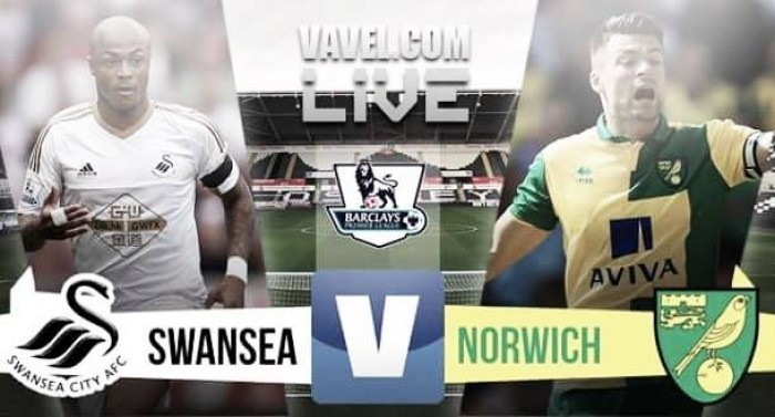 Swansea take all three points against Norwich with 1-0 win in basement battle