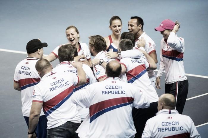 República Tcheca vence França e garante seu terceiro título consecutivo da Fed Cup