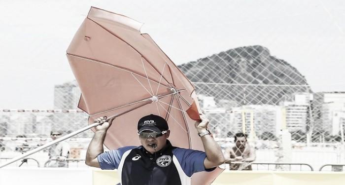 Juan Carlos Saavedra Cáceres: único árbitro colombiano de Voleibol Playa en Río de Janeiro 2016