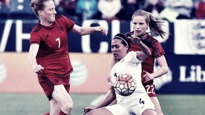 Germany 2-1 England: Lionesses suffer defeat after controversial decision