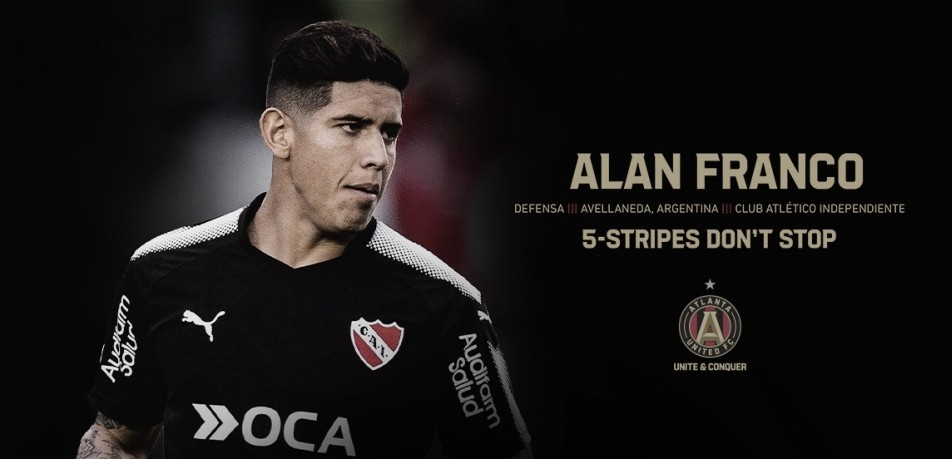 Atlanta United FC cierra a Alan Franco