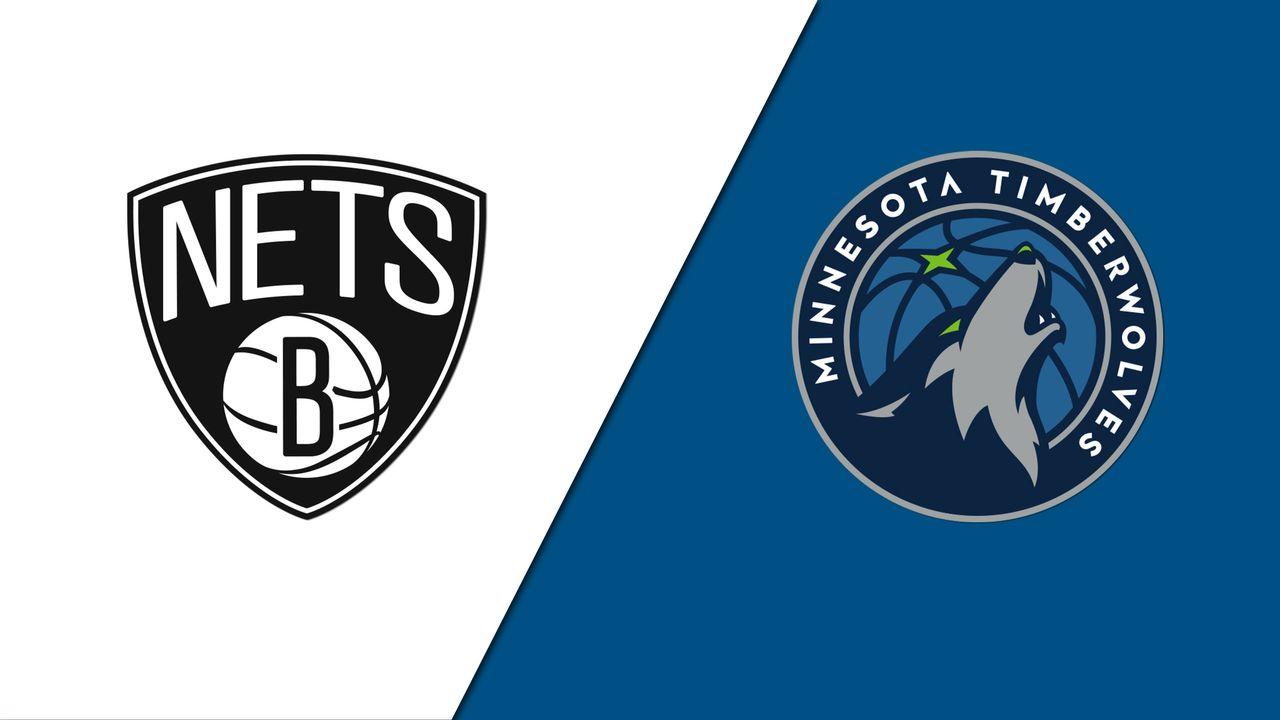 Resumen y mejores momentos del Brooklyn Nets 107-101 Minnesota Timberwolves EN Pretemporada NBA