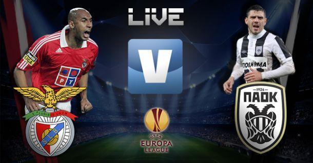 Benfica x PAOK, directo