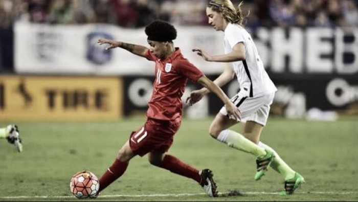 USA 1-0 England: Crystal Dunn's brilliance the difference in the hosts' SheBelieves Cup opener