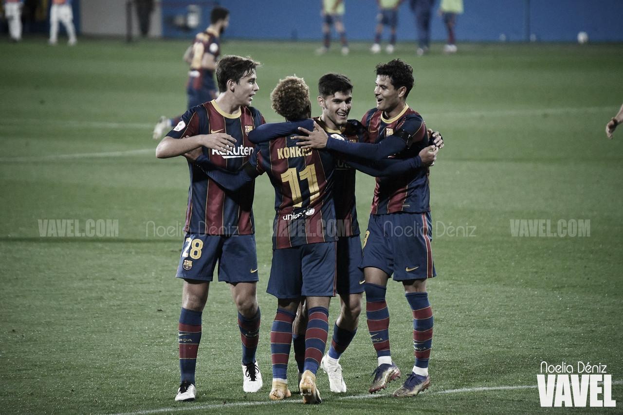 Resumen UCAM Murcia vs Barcelona B en Playoff de fase de ascenso a Segunda División (2-2) (5-4)