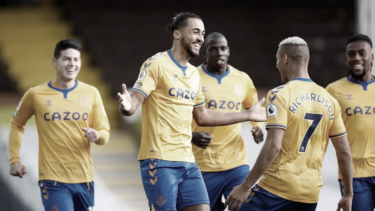 El Everton recupera la sonrisa ante un Fulham perdido