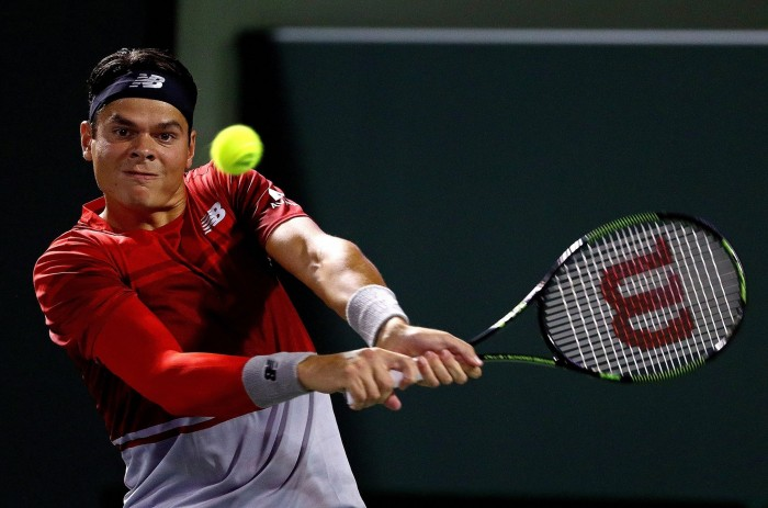 ATP Miami: Milos Raonic Pushes Past Jack Sock, Advances Into Fourth Round