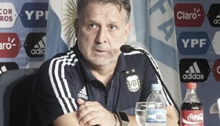 """Martino: """"Estábamos informados sobre la situación del estadio"""""""