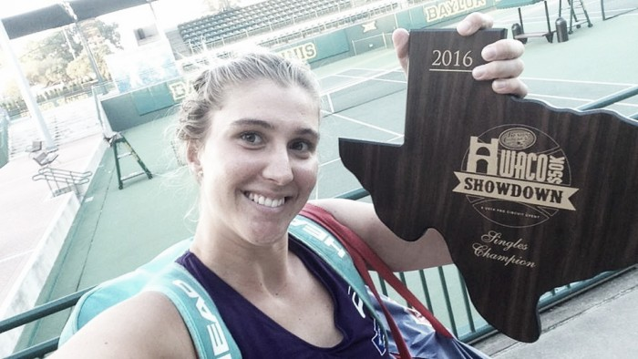 Bia Haddad vira número 1 do Brasil após vencer dois torneios seguidos nos Estados Unidos