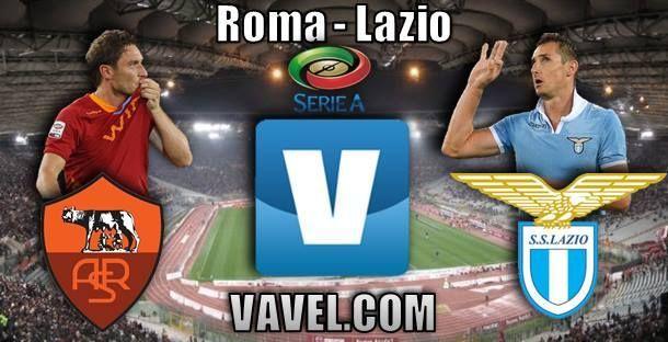 Resultado Roma - Lazio en la Serie A 2015 (2-2)