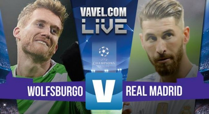 Risultato Wolfsburg - Real Madrid di Champions League (2-0)