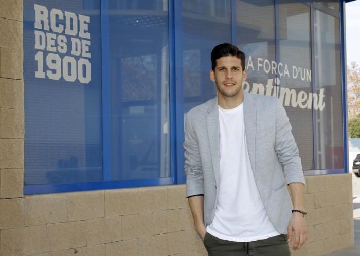 """Javi López: """"Defendemos la camiseta del Espanyol y debemos estar a la altura"""""""