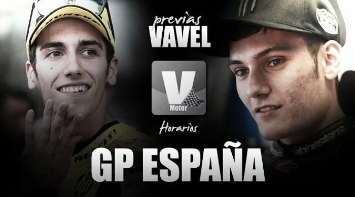 Horarios del Gran Premio de España deMotoGP2016