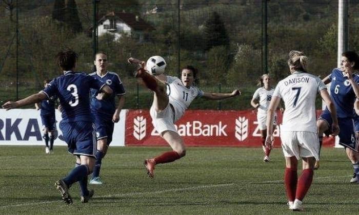 Bosnia & Herzegovina 0-1 England: Karen Carney comes to the Lionesses' rescue