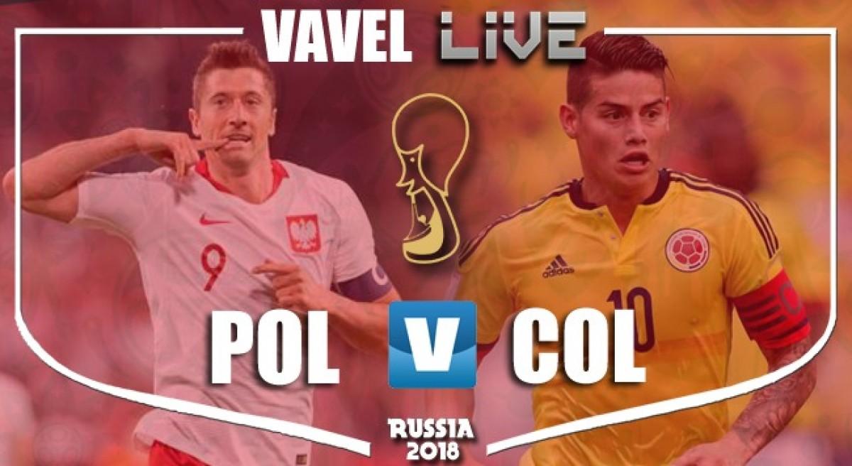 Resultado Polônia x Colômbia pelo Grupo H da Copa do Mundo 2018 (0-3)