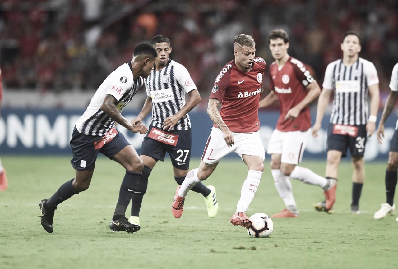 Já classificado, Internacional busca vitória contra Alianza Lima para garantir primeiro lugar do grupo