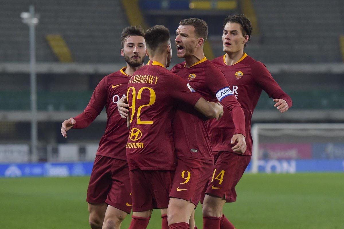 Serie A - La Roma passeggia contro il Chievo: al Bentegodi finisce 0-3