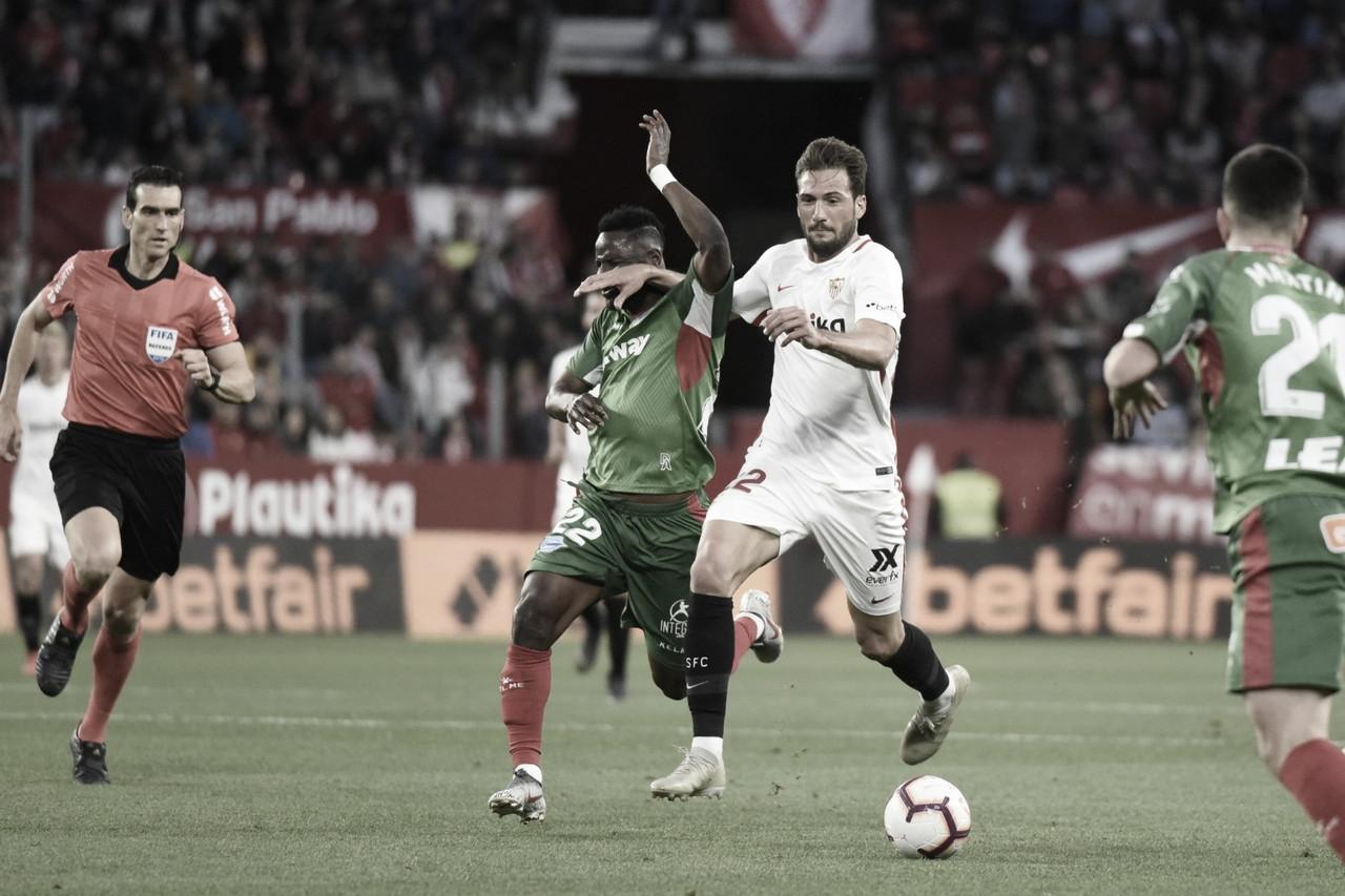 Resumen Deportivo Alavés vs Sevilla FC (0-1)