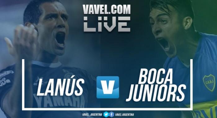 Resultado Lanús vs Boca Juniors por Superliga Argentina 2017 (0-1)