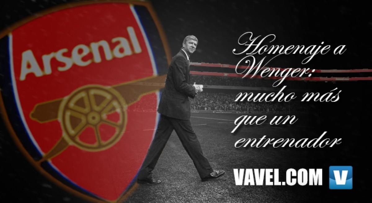 Homenaje a Wenger: mucho más que un entrenador