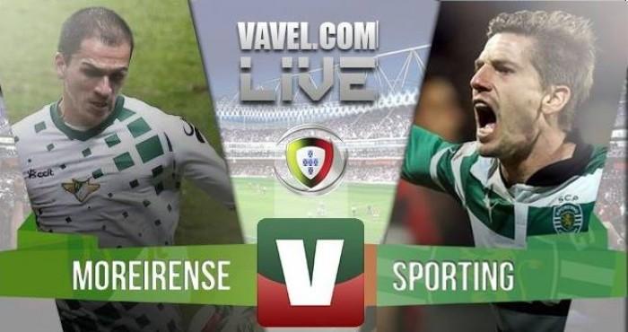 Resultado: Moreirense x Sporting na Liga NOS 2015-2016 (0-1)