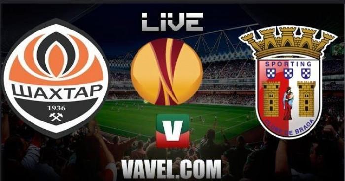 Resultado Shakhtar x Sp Braga Liga Europa 2015/2016 (4-0)