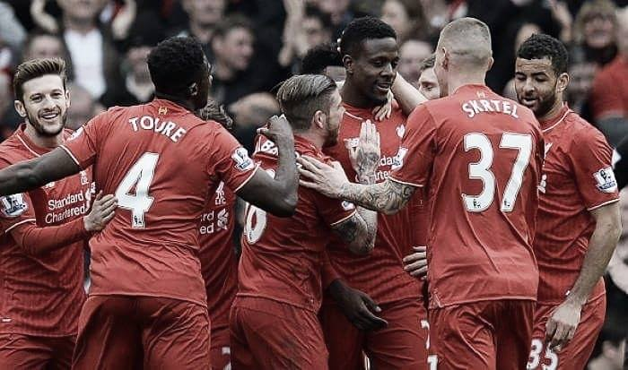 Liverpool 4-1 Stoke City: Reds cruise to victory as the goals pour in