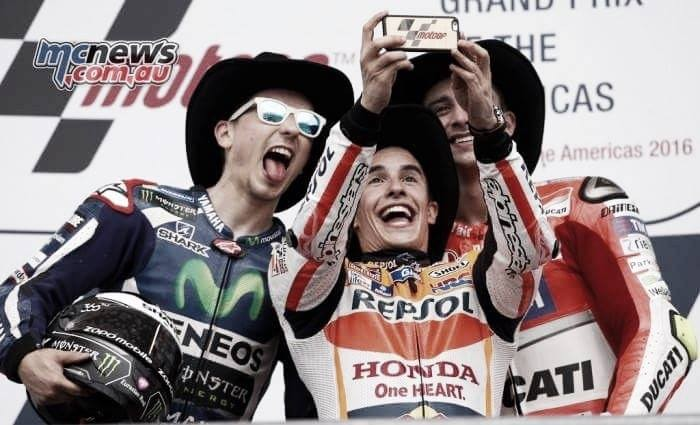 Marquez speaks about victory in COTA