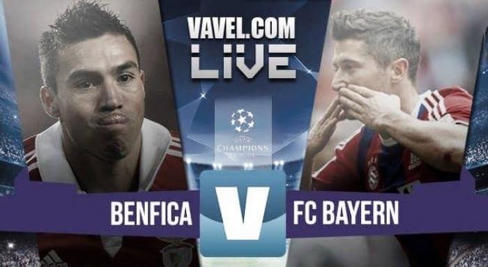 Partita Benfica - Bayern Monaco in Champions League 2016 (2-2): Bayern in semifinale