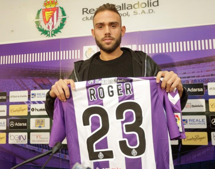 Roger se marcha cedido al Valladolid
