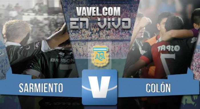 Resultado Sarmiento - Colón por el Torneo de Transición 2016 (1-0)