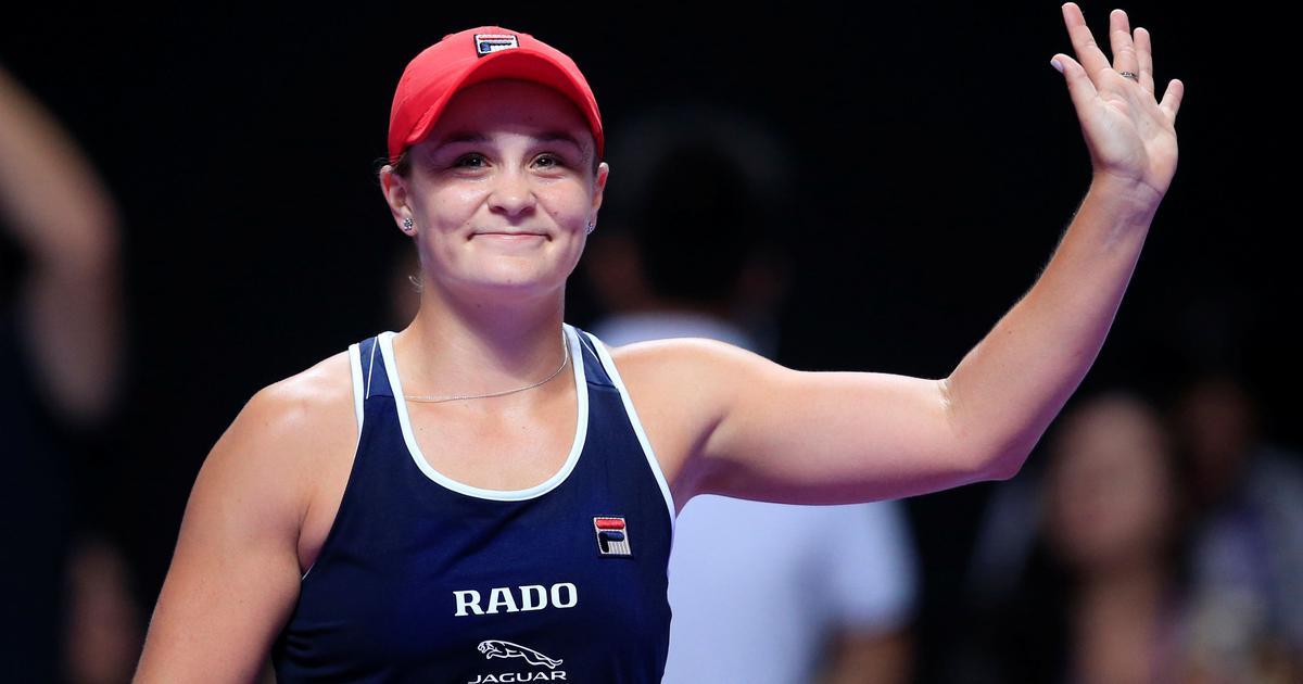 WTA Finals: Ashleigh Barty rallies past Karolina Pliskova to secure spot in final