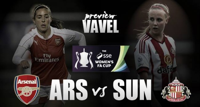 Arsenal Ladies - Sunderland Ladies Preview: Wembley and an FA Women's Cup final awaits the victor