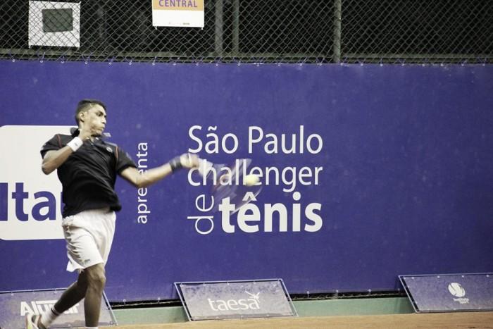 Thiago Monteiro passa por Renzo Olivo e faz primeira final de Challenger da carreira